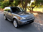 Land Rover Range Rover Sport MULTIMEDIA SUPERCHARGER '09